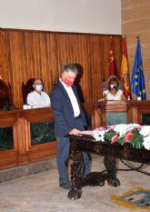 Juan Hervás Ruiz toma posesión como nuevo concejal del Grupo Socialista de Calasparra en su cargo de Concejal de Mayores y Tercera Edad