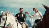 Nasser Al-Attiyah y Christine GZ, a caballo para inspeccionar la especial del Rally Andalucía
