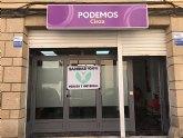 Podemos-Cieza traslada su sede a la calle Escultor José Planes