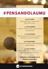 El CEUM inaugura su ciclo de conferencias 'Pensando la UMU'