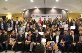 Puerto Lumbreras acoge la V Gala del Atletismo FAMU en la que se reconoce a los mejores atletas de la Región de Murcia
