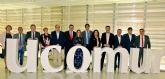 Responsables locales del Ayuntamiento asisten al acto que celebra UCOMUR con motivo del Día Mundial del Cooperativismo, en Cartagena