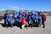 Los moteros de Mazarrón rinden homenaje a Pedro Acosta