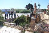 La avenida de Las Salinas contará con una nueva zona verde frente al Centro de Salud