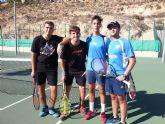 3º encuentro de liga regional del Club de Tenis Kuore frente al Club de Tenis Mazarrón