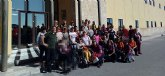 Visita de los usuarios del Centro de Día de Personas con Discapacidad a Jijona al Museo del Turrón