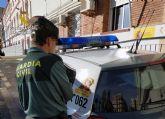 La Guardia Civil detiene en Mazarrón a una mujer dedicada a cometer robos