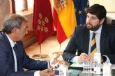 López Miras recibe al presidente de Ucomur