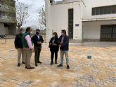 La nueva plaza de Pozo Aledo estará finalizada en un mes