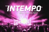 El Festival Intempo San Javier suspende su edición en formato streaming