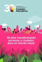 Molina de Segura celebra el 30 aniversario de la proclamación de la Carta de Ciudades Educadoras, de la que forma parte el municipio
