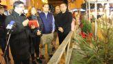 Comienzan los actos navideños en San Pedro del Pinatar con la apertura del Belén y el encendido de las luces