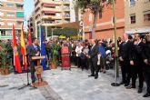 Abre a los vecinos de Alcantarilla, la plaza de la Constitución, conmemorando así también el Día de la Constitución en nuestro municipio