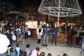 Desde ayer tarde Alcantarilla ya luce su alumbrado navideño y se presentó la programación de Navidad Cultural