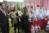 Los comercios pinatarenses exponen sus productos y servicios en la VIII Feria de Navidad