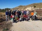 Jornada de reforestación en la Vía Verde de la Ribera de Los Molinos