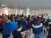 Más de 200 personas participan en la carrera solidaria IX Subida a la Sima 'Cabezo de la Jara'