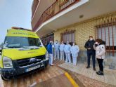 El Área IV de Salud suministra las primeras dosis de la vacuna contra la COVID-19 a unos 300 ancianos, dependientes y personal de residencias de Caravaca de la Cruz
