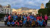 Los senderistas 'Los Peregrinos' de Las Torres de Cotillas inician el Camino de la Cruz de Caravaca
