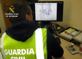 La Guardia Civil detiene a tres jóvenes por una decena de robos en Santomera