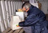 El ecoparque municipal se suma a un proyecto de etiquetado electrónico de los aparatos eléctricos y electrónicos desechados