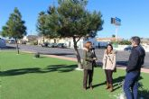 Renuevan la zona verde, el asfaltado y la señalización del barrio de Los Veras