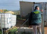 La Guardia Civil arresta a dos experimentados delincuentes por la sustracción de gasóleo bonificado en fincas agrícolas