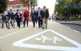 Un innovador pavimento implantando en 24.000 m2 de Murcia reducirá la temperatura ambiental en 1,5°C