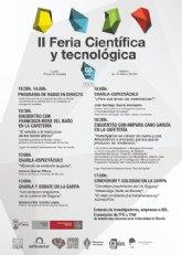 El colofón a las II Jornadas de Divulgación Científica de Cieza: la feria científica y tecnológica