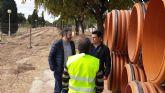 La Comunidad construye un colector de pluviales en San Javier