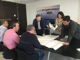 El alcalde, José Miguel Luengo  y el director general del Agua, Sebastián Delgado participan en una reunión técnica sobre obras y proyectos contra inundaciones en el municipio