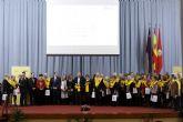 La Universidad de Murcia rinde homenaje a las personas que pusieron en marcha e hicieron crecer la Facultad de Medicina