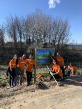 Voluntarios de Soltec reforestan la orilla del río Segura a su paso por Molina junto con ANSE y la CHS