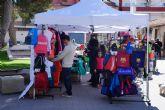 Las Torres de Cotillas disfruta por primera vez de su 'Plaza del Comercio'