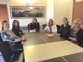 OMEP presenta a la alcaldesa y parte del equipo de gobierno de Mazarrón su nueva delegada local
