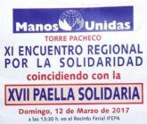 Torre Pacheco realiza un año más su Paella Solidaria a favor de Manos Unidas