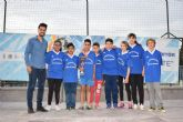 M�s de 150 escolares participan en las finales locales de deporte escolar en categor�a alev�n