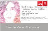 El PSOE organiza la charla-coloquio Micromachismos, violencias y acosos cotidianos con motivo del 8 de marzo