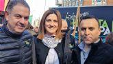 Alcaldesa, Concejal de Agricultura y cientos de regantes archeneros participan en la manifestación de Madrid en favor del agua