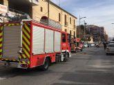 Emergencias y Bomberos de Jumilla organizan un simulacro de accidente de tráfico con atrapados