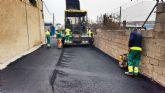 Comienzan las obras de asfaltado en los polígonos industriales de Molina de Segura