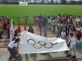 Unos 360 alumnos de 6° de Educación Primaria de los ocho colegios de Totana participan en la Olimpiada Escolar