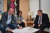 La Consejería de Fomento estudiará la mejora de la carretera que une Pliego con Alhama de Murcia