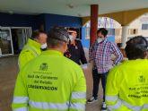 La Unidad Militar de Emergencias trabaja en la desinfección de catorce residencias de mayores de la ciudad de Murcia