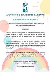 San Pedro del Pinatar celebrará una fiesta multiaventura tras el confinamiento para todos los niños de la localidad