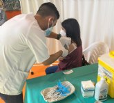 Cieza inicia la vacunación masiva por grupos de edad