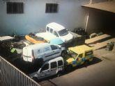 El PSOE de San Javier denuncia al Seprona un segundo presunto desguace ilegal de vehículos en instalaciones municipales