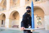 Un estudiante de Industriales lanza el prototipo a escala de un cohete disenado por él en sus ratos libres