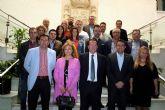 El Alcalde recibió al Brujo del Año 2016 de las Fiestas de Mayo, el empresario Francisco Beltrán