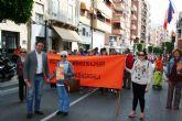 La XII Marcha Solidaria 'Por el Alzheimer', que organiza AFADE Alcantarilla bate record de participación
